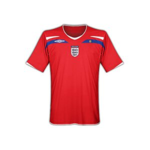 Authentic England Home Soccer Jersey