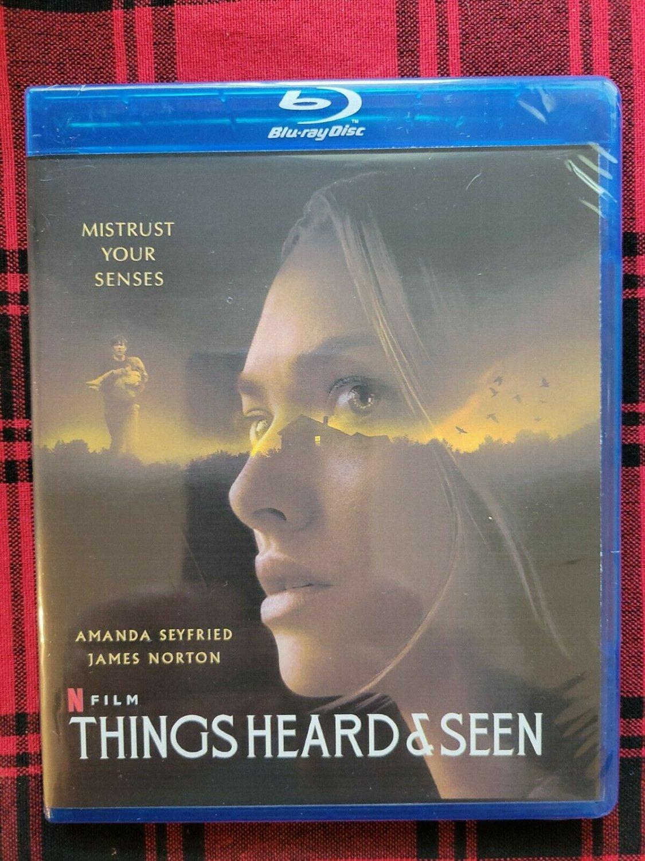 Things Heard & Seen (Blu-ray) 2021 Horror, Thriller