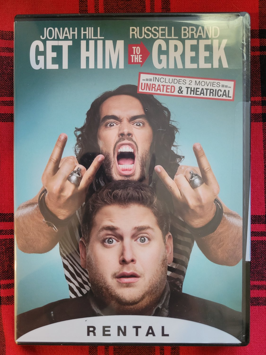 Get Him To The Greek (DVD) 2010 Comedy