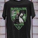 Blood Fire Saloon tee, Type O Negative, Peter Steele Light Version
