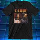 Cardi B T-Shirt, 90s Retro Vintage, 90s Hip Hop Rap Tee Shirt