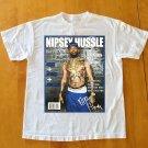 NIPSEY HUSSLE T-shirt LA Crenshaw Rap Hip Hop