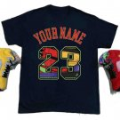 23 Custom name Unisex T-shirt Match Jordan Retro 5, What The NEW Jordan 5 Tee