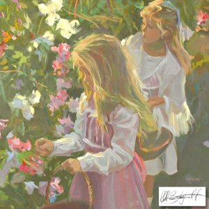 """Secret Meadow"" by Don Hatfield  SOLD OUT EDITION"