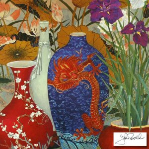 """""""Peking Collection"""" by John Powell, Numbered and Hand Signed with Cert!  SOLD OUT EDITION"""