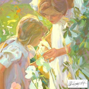 """""""Sweet Scents"""" by Don Hatfield, Numbered and Hand Signed with Cert! Listprice:$3000"""