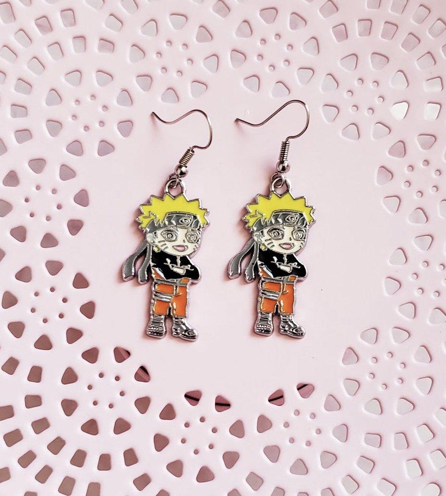Naruto earrings, anime earrings, kawaii earrings