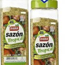 Badia Sazon Tropical seasoning 1.75 Lbs ideal for Meat Poultry & Fish (2 Pack)