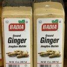 2 Pack Badia Ground Ginger 12 ounces