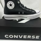 Converse chuck taylor All-star clean lift women's 561675C black leather sneakers