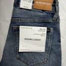 Calvin klein jeans women's mid rise skinny CKJ 011 cobar blue