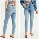 American eagle women's mom jeans high rise stretch cool classic size 00