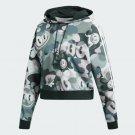Adidas original's cropped hoodie DV2661 Hattie Stewart size 32 usXS uk6