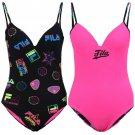 FILA womens reversible one piece swimsuit sizes  XS S