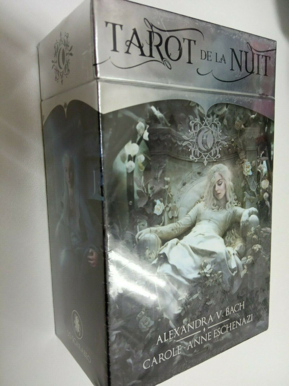 Tarot de la nuit lo scrabeo 79 cards and book made in italy NEW