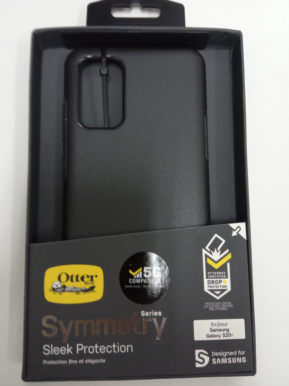 Otterbox symmetry case for Samsung galaxy s20+ 5G  black