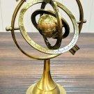 Brass Celestial Globe Armillary Globe Showpiece Brass Armillary Sphere Decor