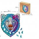"""Wooden puzzle """"Bear"""" M-177 parts, 23x28 cm (eco-friendly)"""