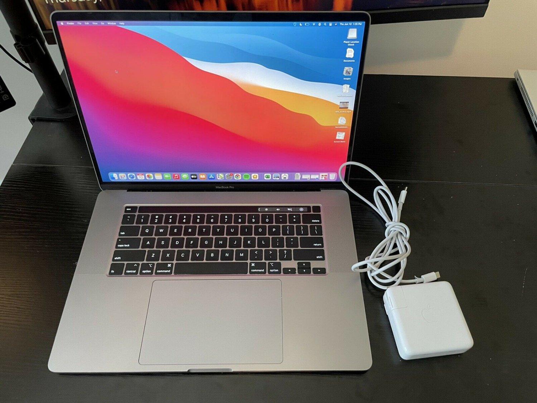 "Apple Macbook pro 16"" 2019 i9 1 TB SSD 16 GB RAM AppleCare+"