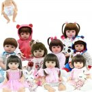 Lifelike 48CM Full Silicone Soft Body Girl Boy Reborn Baby Doll Toy Like Alive