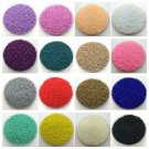 Czech 1000pcs 2mm Round Colorful Glass Loose Beads Gemstone Spacer Pick Jewelry