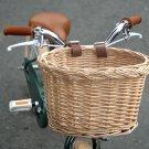Bike Basket Wicker Front Handlebar Bicycle Basket adjustable