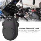 Bicycle Helmet Password Lock Telescopic Wire Rope