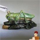 New Authentic Olivia Riegel Swarovski Crystal Glass Cricket X-mas Ornament