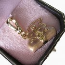 New Authentic Boxed Classic Juicy Couture Pink Status Bag Charm YJRU2617 $55
