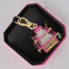 New Release Authentic Juicy Couture Pagoda Charm In Box Pink Gold YJRY6474 $58