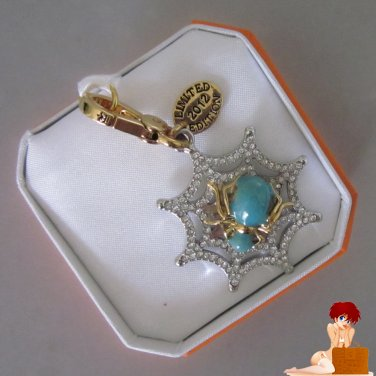 New Authentic Boxed Juicy Couture Limited Edition Glow in the Dark Spider Charm
