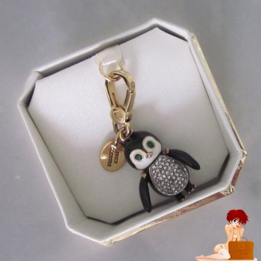 New Authentic Juicy Couture Limited Edition 2012 Penguin Gold Charm YJRU6242 $58