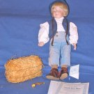 Little Boy Blue porcelain doll by Dianna Effner Mother Goose Collection Ashton Drake Galleries
