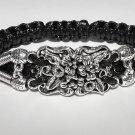 Handmade bracelet. Flowers