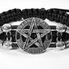 Handmade bracelet. Pentagram 1
