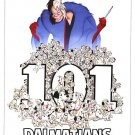 101 Dalmatians Disney Classic  Double Sided Original Movie Poster 27x40 inches