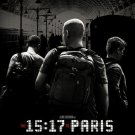 The 15:17 to Paris Version A Double Sided Original Movie Poster 27x40 inches