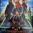 """Spider-man Far From Home Intl/Imax Original Movie Poster Double Sided 27""""x40"""""""