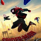 """Spider-man Into the Spider Verse B Intl Movie Poster Double Sided 27x40 Original 27""""x40"""""""