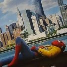 """Spider-man Homecoming( 3D at the Bottom Movie Poster Double Sided  Original 27""""x40"""""""