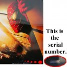 """Spider-Man Movie Poster Original Advance (Recalled) 27X40 With Serial #Single Sided  27""""x40"""""""