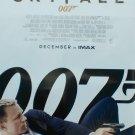 "Skyfall Regular December Imax VERY RARE Original Double Sided Movie Poster  27""x40"""