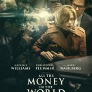 """All the Money in the World Intl Original Double Sided Movie Poster  27""""x40"""""""