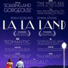 La La Land 14 Critics  Movie Poster Double Sided 27x40 Orig 27x40 inches