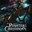 Pirates of the Caribbean Curse of the Black Pearl Advance  Movie Poster Double Sided 27x40 inches