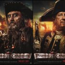 Pirates of the Caribbean: On Stranger Tides  Movie Poster Double Sided 18X27 inches
