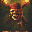 Pirates of the Caribbean: Dead Man's Chest Advance   Movie Poster Double Sided 27x40 inches