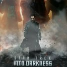 Star Trek Into the Darkness Intl  Original Double Sided Movie Poster 27x40 inches