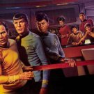 Star Trek Enterprise Crew  Single Sided Movie Poster 27x40 inches