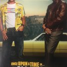 Once Upon a Time in Hollywood  Brad/Caprio Intl Original Double Sided Movie Poster 27x40 inches